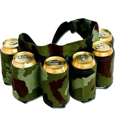 Six Pack Camo Belt