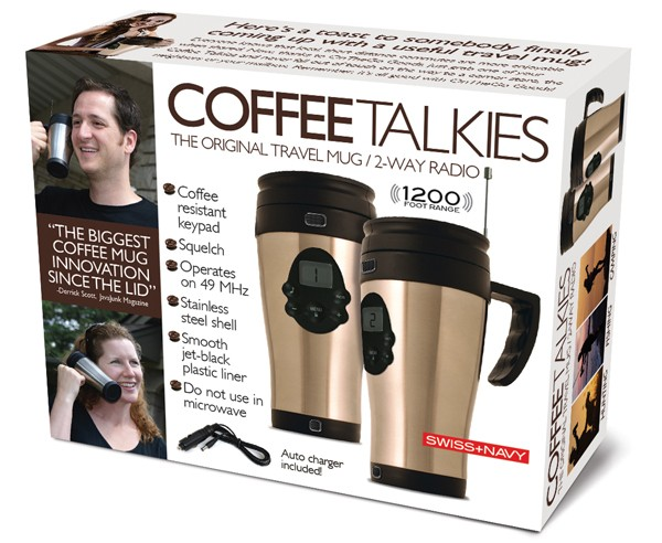 Coffee Talkies Prank Gift Box