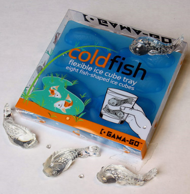 Cold Fish Goldfish Ice Mold