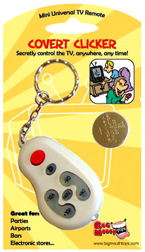Covert Clicker Remote