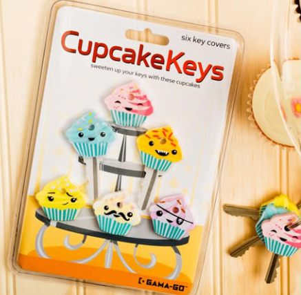 Gama Go Cupcake Key Covers