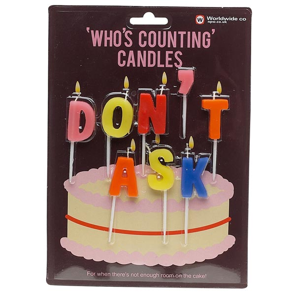 Don\'t Ask Candles