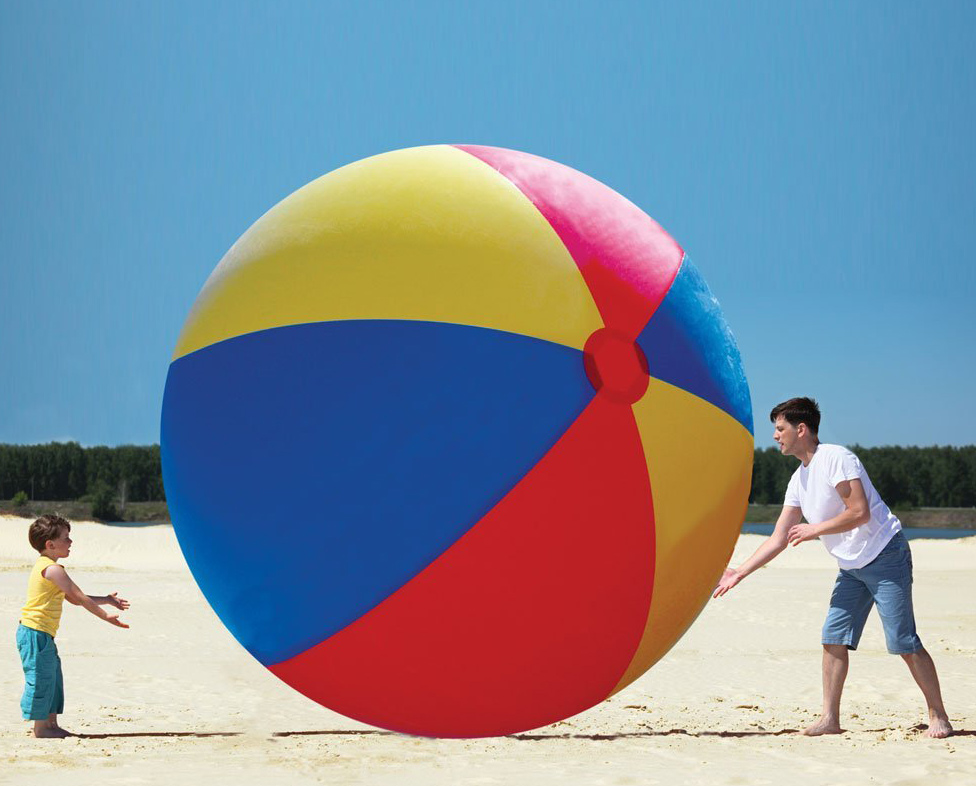 The World's Largest Beach Ball