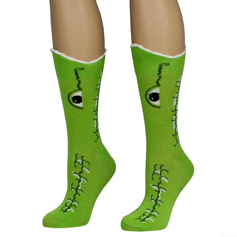 Wide Mouth Alligator Socks
