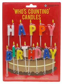 Happy Birthday Candles