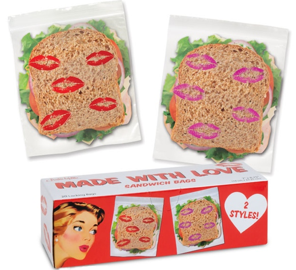 Kisses Sandwich Bags