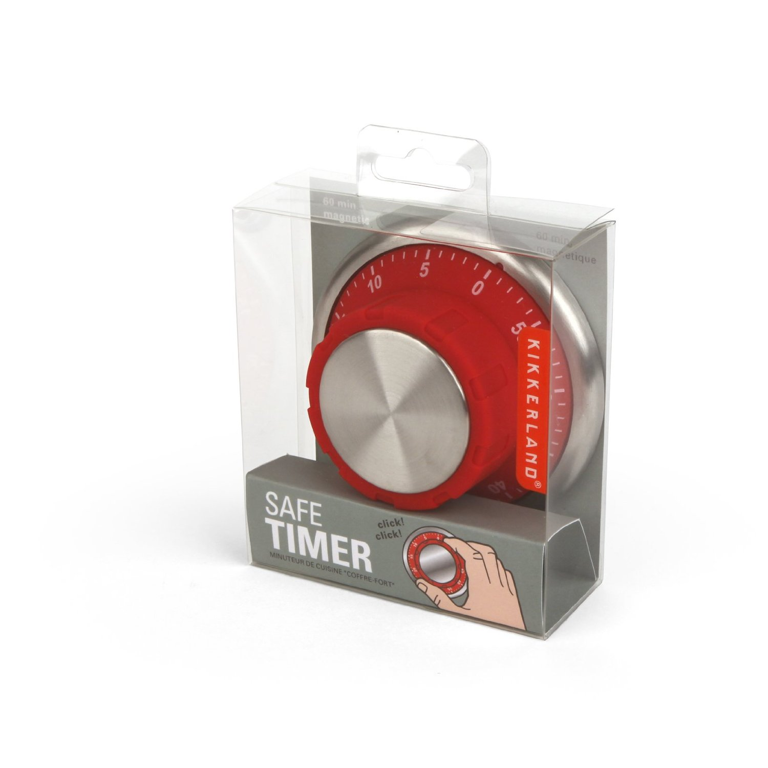 Safe Lock Kitchen Timer