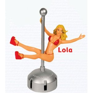 Dashboard Pole Girl: Lola