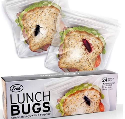 Lunch Bugs Sandwich Bags