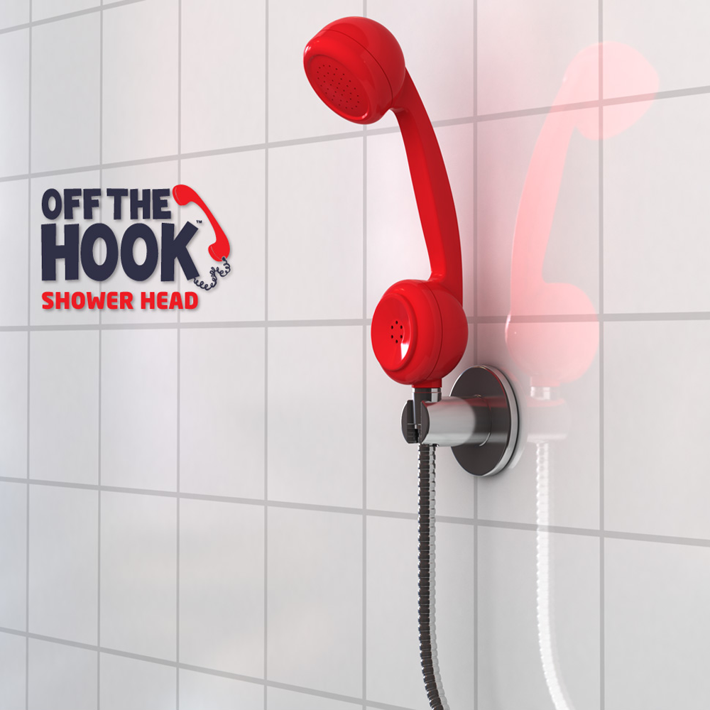 Off the Hook Phone Shower Head - $9.95 : FunSlurp.com, Unique ...