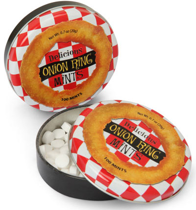 Onion Ring Breath Mints
