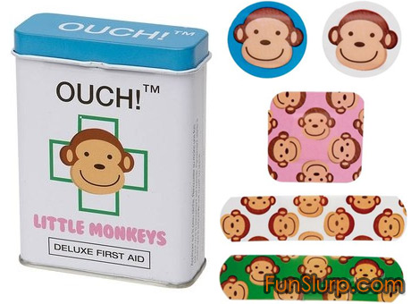 Ouch! Little Monkeys Band Aids