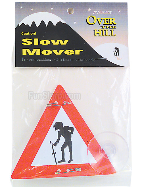 Slow Mover Caution Sign