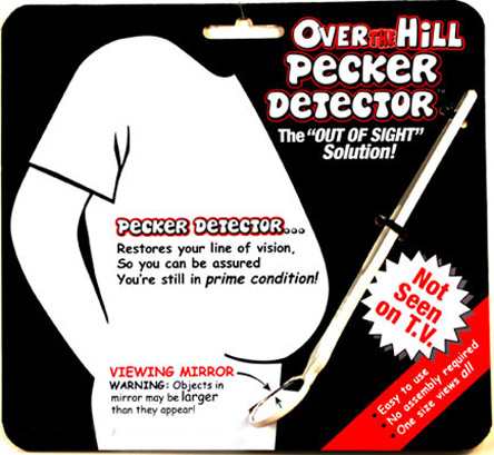Over the Hill Pecker Detector