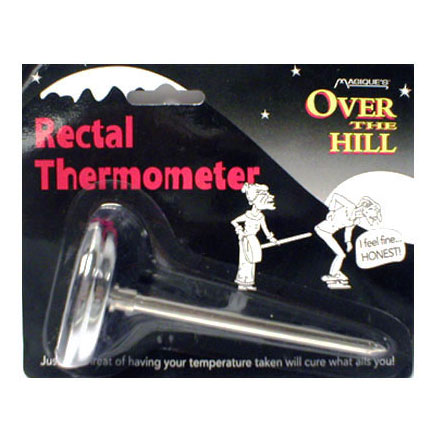 Over the Hill Rectal Thermometer