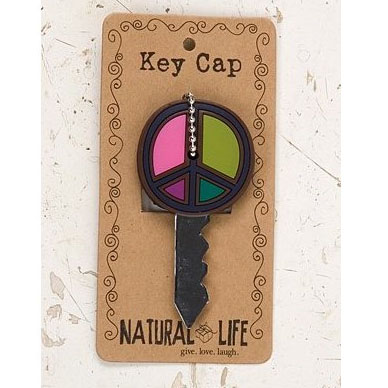 Colorful Peace Sign Key Cover