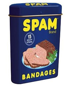 Spam Band Aids