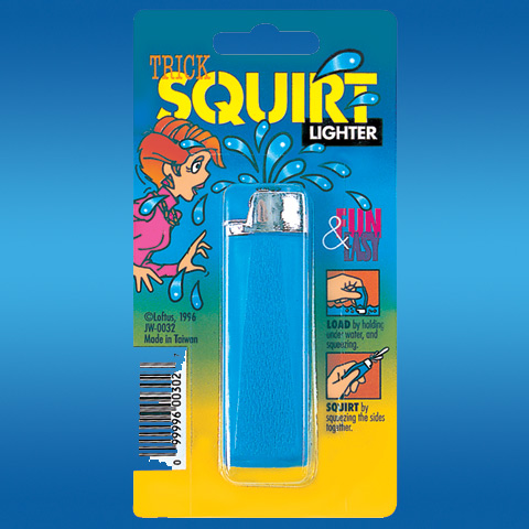 Squirt Lighter Prank