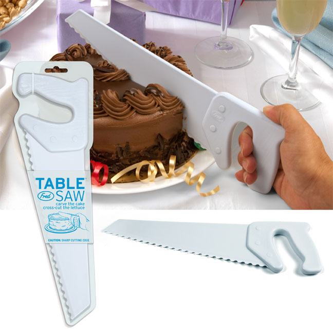 Table saw cake knife unique gifts Funny kitchen gadgets gifts