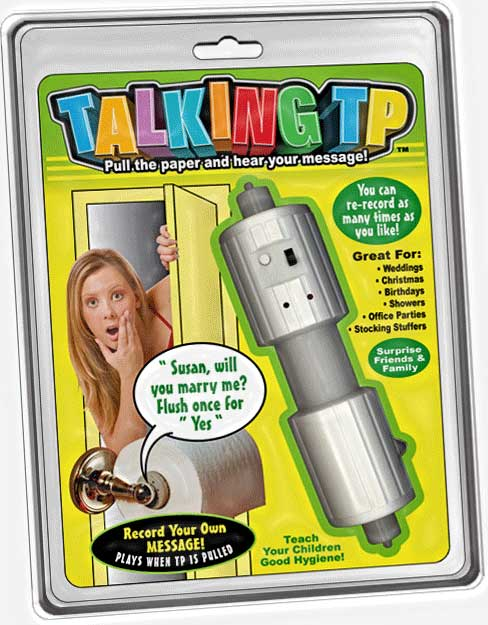 Recordable Talking Toilet Paper