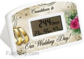 Wedding Day Countdown Timer 10 99 Funslurp Com Unique Gifts