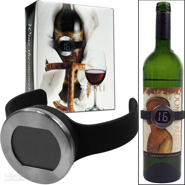 Wine Collar Bottle Thermometer