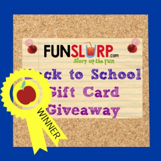 Congratulations to the Back to School Giveaway Winner!
