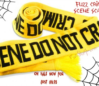 Scary Savings: Stay warm with the Fuzz Crime Scene Scarf