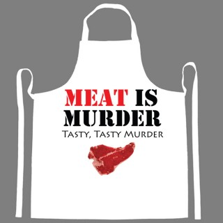 Funny Message Aprons Add Offbeat Flavor to Cooking