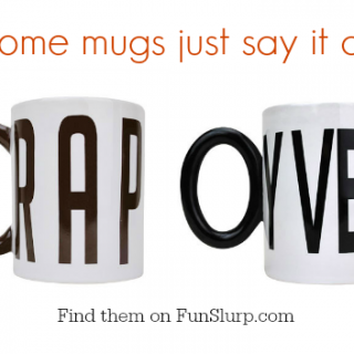 Oy Vey and Crap Mugs Say It All